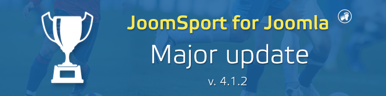 JoomSport for Joomla major release 4.1