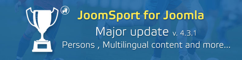 JoomSport 4.3.1 Major release