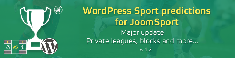 Sport predictions for wordpress