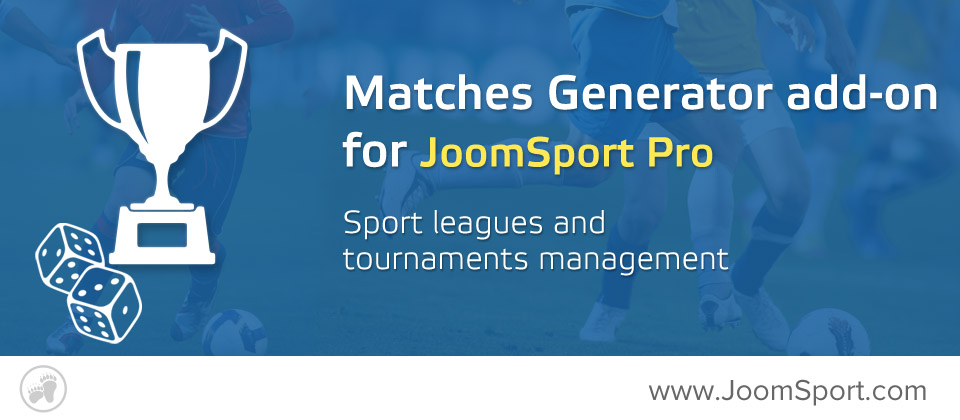 JoomSport Matches generator